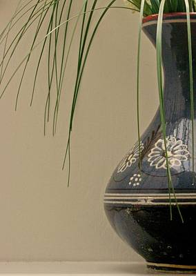 Vase Art Print by Odd Jeppesen