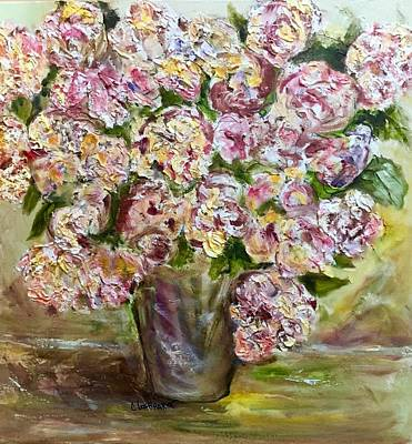 Painting - Vase Of Flowers by Chuck Gebhardt