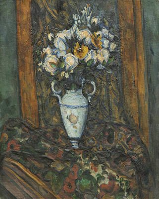 Painting - Vase Of Flowers by Paul Cezanne