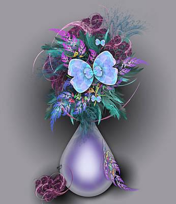 Vase Of Fractals Art Print