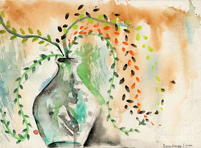 Painting - Vase With Willows by Genevieve Esson