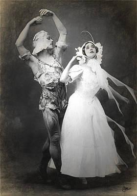 Vaslav Nijinsky Ballet Art Print by Joaquin Abella