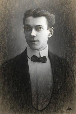 Vaslav Nijinsky Sketch Art Print
