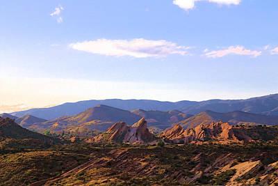 Photograph - Vasquez Rocks Sky And Stones by Viktor Savchenko