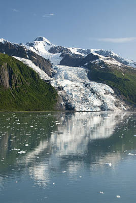 Vasser Glacier Art Print
