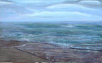 Thomas Kinkade Royalty Free Images - Vast Waters Royalty-Free Image by Ruthie Briggs-Greenberg