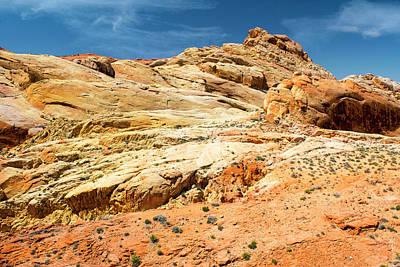 Photograph - Vast Wonderland Valley Of Fire by Frank Wilson
