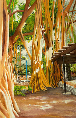 Wall Art - Painting - Vat Vrishna by Terry Arroyo Mulrooney