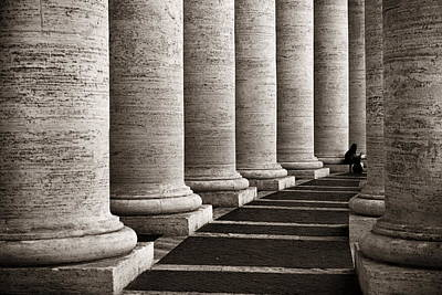 Photograph - Vatican City Buildings by Songquan Deng