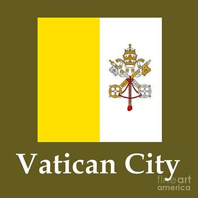 Vatican City Flag And Name Original