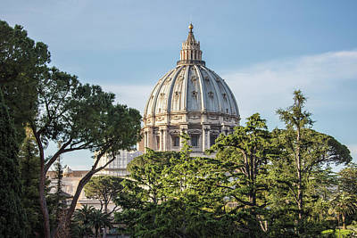 Photograph - Vatican Dome  by John McGraw