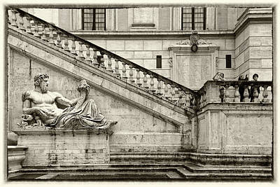 Photograph - Vatican Gardens Rome by Alex Saunders