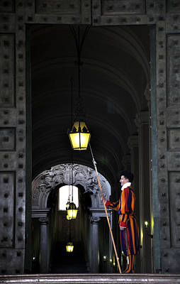 Photograph - Vatican Guard by Andrew Dinh