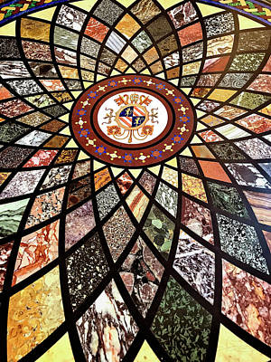 Photograph - Vatican Marble Mosaic by Jill Love