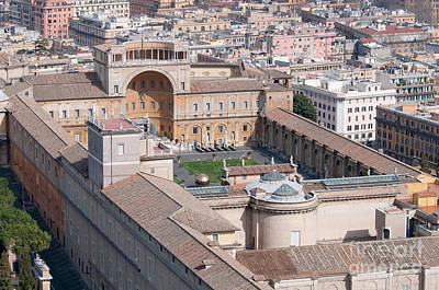 Vatican City Photograph - Vatican Museums by Andy Smy