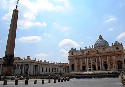 Photograph - Vatican On Sunny Day by Robert Moss