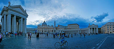 Photograph - Vatican Piazza by S Paul Sahm