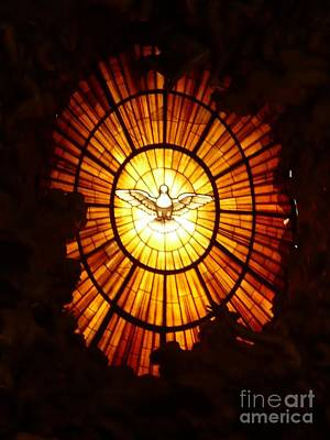 Dove Photograph - Vatican Window by Carol Groenen