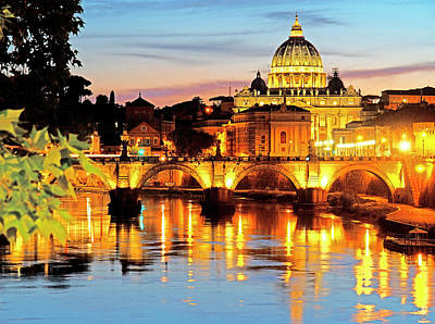 Photograph - Vatican's St. Peter's by Dennis Cox WorldViews