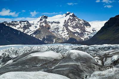 Photograph - Vatnajokull Glacier II by Stuart Gordon