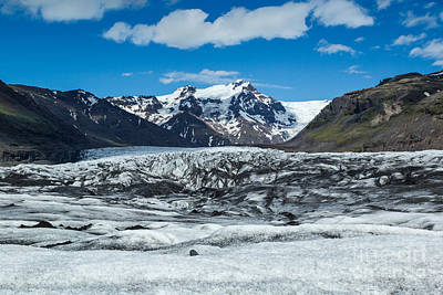 Photograph - Vatnajokull Glacier by Stuart Gordon