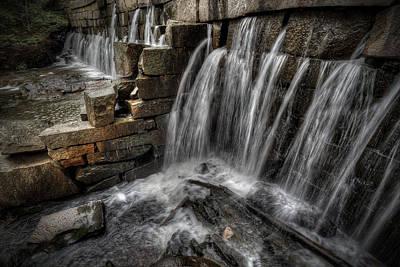 Digital Art - Vaughn Brook Dam by Patrick Groleau