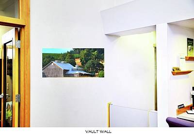 Jerry Sodorff Royalty-Free and Rights-Managed Images - Vault Wall On The Wall by Jerry Sodorff