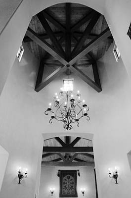 Photograph - Vaulted Ceiling by Jill Reger