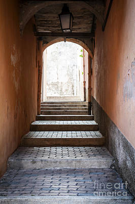 Photograph - Vaulted Passage In Villefranche-sur-mer by Elena Elisseeva
