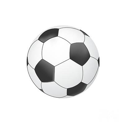 Vector Soccer Ball Isolated On White Background Original