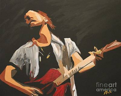 Painting - Vedder by Steven Dopka