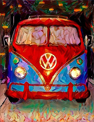 Painting - Vee Dub by Paul Van Scott