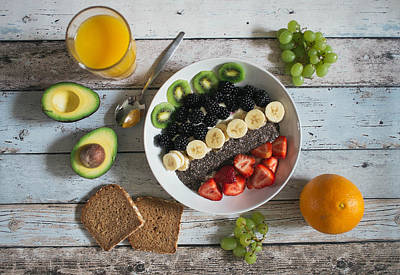Breakfast Photograph - Vegan Life by Happy Home Artistry