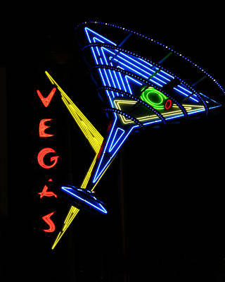 Photograph - Vegas by Anthony Jones