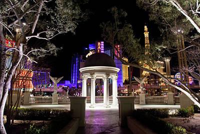 Vegas At Night 2 Art Print by Patrick  Flynn