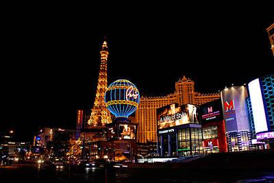 Vegas At Night Original
