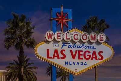 Photograph - Vegas Baby II by Susan Candelario