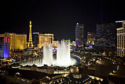 Photograph - Vegas Baby by Jonas Wingfield