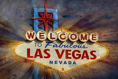 Photograph - Vegas Baby by Susan Candelario