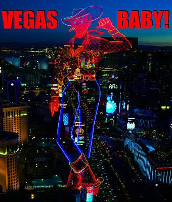 Photograph - Vegas Baby Vegas Vick by David Lee Thompson