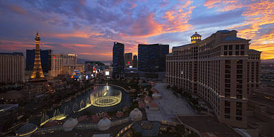 Nevada Photograph - Vegas By Night by Chad Dutson