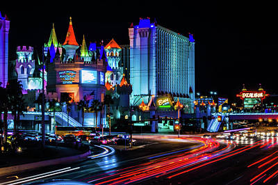 Photograph - Vegas Castle  by Joseph Caban