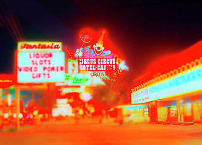 Photograph - Vegas Circus by Jan W Faul