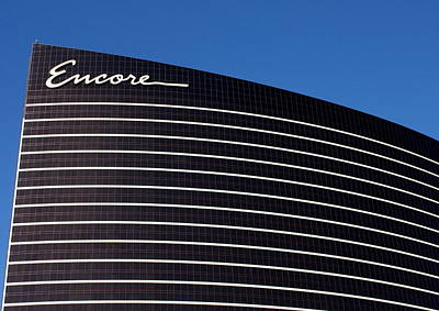 Photograph - Vegas Encore by David Nicholls