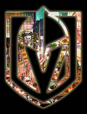 Photograph - Vegas Golden Knights 2 by Ricky Barnard