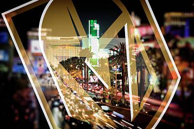 Photograph - Vegas Golden Knights by Ricky Barnard