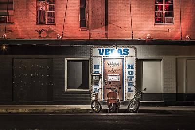 Photograph - Vegas Hotel by Van Sutherland