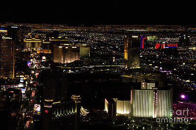 Photograph - Vegas Lights by Louise Magno