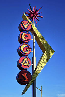 Photograph - Vegas Neon Sign by Tatiana Travelways