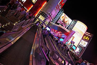 Britney Spears Photograph - Vegas Nightlife by Deborah Penland